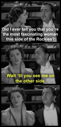 After The Thin Man: William Powell and Myrna Loy