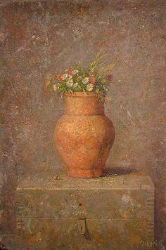 Kirill Doron(Russian/American ) Pol. Tsvete-Wild Flowers oil on canvas