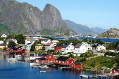 norway village - Google Search
