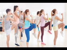 Zumba Dance Workout Fitness For Beginners • Step By Step • Part 3 - YouTube