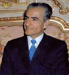 Mohammad Reza Shah Pahlavi.