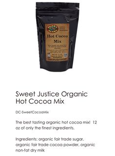 We are so much more than coffee!!! Tea and hot cocoa for starters!! Some of my favorites below!!   https://javamomma.com/HGrattan
