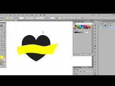 Adobe Illustrator - Morph Text into an Object - YouTube