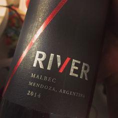 Cerramos el finde de manera inmejorable  #RiverPlate #malbec