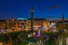 De kerstmarkt in Edinburgh is favoriet van veel Britten.