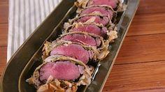 Greek Lamb Wellington - Michael Symon - The Chew The Chew Recipes, Lamb Recipes, Dinner Recipes, Cooking Recipes, Lamb Dinner, Dinner Bell, Wellington Food, Tv Chefs, Michael Symon