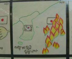 中国の小中学生が書いたイラストの題材が日本のアニメマンガだらけwww