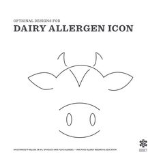 Deact focuses on helping families with their food allergies by growing awareness and creating deliverables. Part of those deliverables is to build a series of 8 allergen icons that will be easy to understand by the masses. These icons will be used to warn those with this disease that individual meals and ingredients may contain dairy. #dairyFree #foodallergies #dairy #milk #cheese #AllergyAttack #food #foodie #design #illustration #graphicdesign #DEACT #Thesis #Cow #allergen DEACT.LIFE