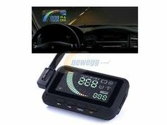 ifound Universal Car HUD Vehicle-mounted Head Up Display System OBD II Overspeed Warning
