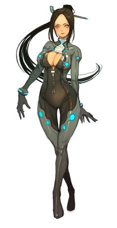 images for anime echi Female Character Design, Character Design References, Character Design Inspiration, Game Character, Character Concept, Concept Art, Art Manga, Anime Manga, Got Anime