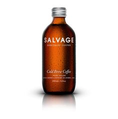 Salvage Specialty Coffee - Cold Brew Bottle Design on The Loop