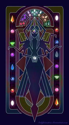 Rainbow Diamond OC (Mural) by LadyHeinstein on DeviantArt