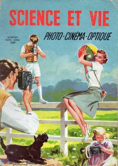 "LA SCIENCE ET LA VIE - Numero hors serie ""Photo - Cinema - Optique"" 1952"