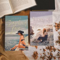 Scorching Love and Waves of Memories by Jonaxx Pop Fiction Books, Wattpad Books, Book Photography, Aesthetic Pictures, Instagram Accounts, Waves, Goals, Memories, Aesthetic Images