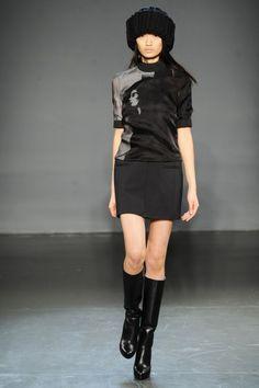 New York Fashion Week: Victoria, Victoria Beckham Fall 2013 / Photo by Anthea Simms