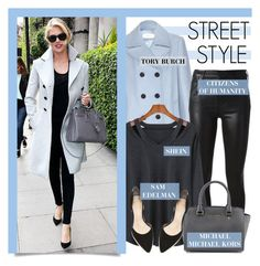 """""""STREET STYLE"""" by lgb321 ❤ liked on Polyvore featuring Tory Burch, Citizens of Humanity and MICHAEL Michael Kors"""