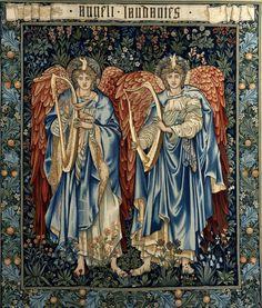 Angeli Laudantes  Edward Burne-Jones1894