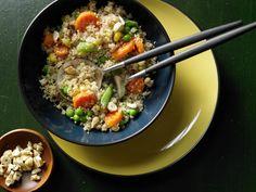 Gemüse-Couscous - mit Cashewkernen - smarter - Kalorien: 487 Kcal - Zeit: 15 Min. | eatsmarter.de