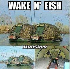 #Fishing Wake & #Fish Manshed