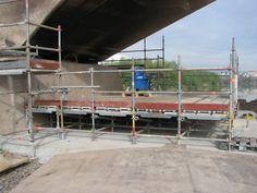 Rehabilitación del cauce del Río Guadalquivir y el Puente del Arenal en Córdoba. Estructura base