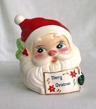 Vintage Josep Originals Merry Christmas Santa Napkin Holder