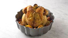 We all love a one-pan dinner, but who knew that pan could be a Bundt™? This genius hack is the best, easiest way to make juicy, flavorful, crispy-on-the-outside roasted chicken (plus veggies!) every single time.
