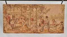 Vintage Chinese Tapestry  Circa 1920s by DLDowns.etsy.com