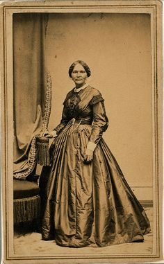 Elizabeth Hobbs Keckley February 1818 – May 1907) (sometimes spelled Keckly) was a former slave turned successful seamstress who is most notably known as being Mary Todd Lincoln's personal modiste and confidante, and the author of her autobiography, Behind the Scenes Or, Thirty Years a Slave and Four Years in the White House. Mrs. Keckley utilized her intelligence, keen business savvy, and sewing and design skills to arrange and ultimately buy her freedom (and that of her son George as…