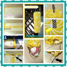 Tingtingmamma Tutorial Plastic Bag Dispenser I Spy Diy Sewing