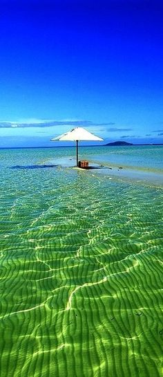 This is amazing, I would love to set and play in the water there!! ~ Amanpulo, Philippines