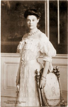 Crown Princess Cecilie of Prussia, née Duchess of Mecklenburg-Schwerin