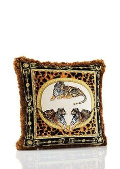 Versace Africa Cushion   Home Collection