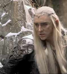 Thranduil...still not as hot as his son X) Lee Pace is a fabulous King of the Woodland Realm. this is a really cool shot