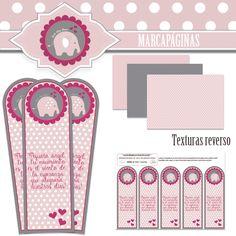 Extras kit decorativo Elefante  *Babyshower niña