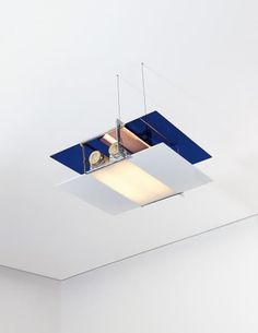 "PHILLIPS : NY050414, Eileen Gray, Rare ""Aéroplane"" ceiling light"