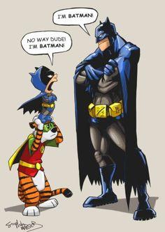 I Don't Recall Calvin Ever Saying, 'Dude.'