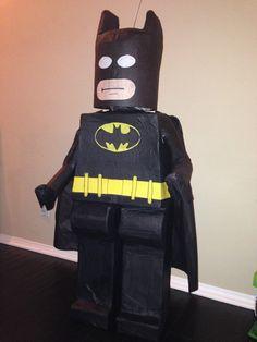 Photo of Pinatas Villafan - Santa Ana, CA, United States. Legit Lego Batman!!!