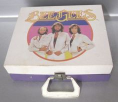 Vintage Bee Gees Phonograph Record Player photo