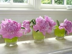 Glassybabies with Peonies - What Feeds My Soul