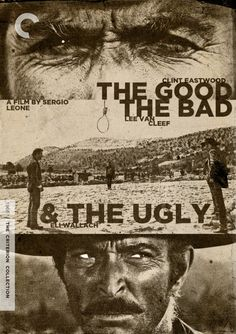 """THE GOOD THE BAD AND THE UGLY ★★★★ one of the best italian spagetti westerns of all time, for me at least the best The movie is a virtually definitive """"spaghetti western,"""" rivaled only by Leone's own Once Upon a Time in the West (1968 - this epic features a compelling story, memorable performances, breathtaking landscapes, and a haunting score. Best scene the Finale double click to watch"""