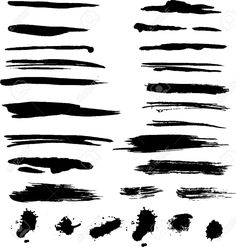 Image result for paint smear clipart Paint Strokes, Brush Strokes, Grunge, Distressed Texture, Photos, Clip Art, Illustration, Painting, Image