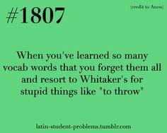 Whitaker S Latin