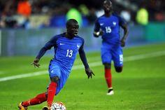 N'Golo Kanté avec les Bleus le 29 mars 2016