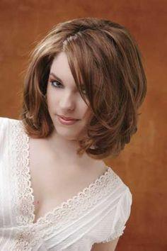 For medium length hair.