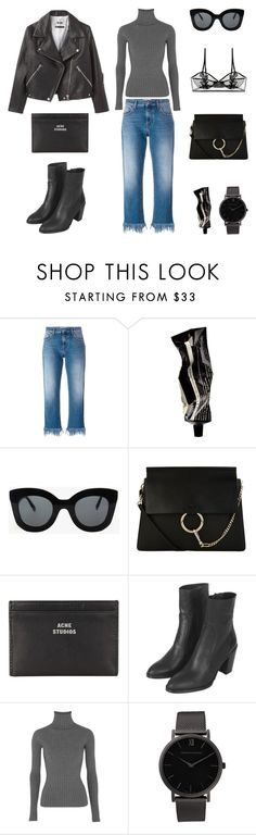 """Unbenannt #588"" by fashionlandscape ❤ liked on Polyvore featuring MSGM, Aesop, CÉLINE, Acne Studios, Topshop, Larsson & Jennings and ELSE"
