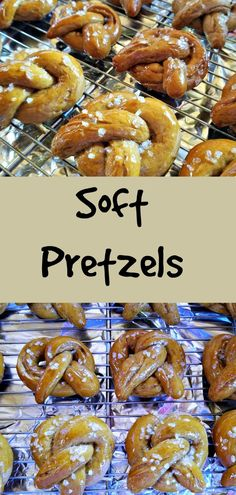 A soft pretzel recipe so you can make this classic treat at home. It's easier than you might think to make these tasty snacks for your family Fish Recipes, Beef Recipes, Snack Recipes, Dessert Recipes, Family Recipes, Chicken Recipes, Tasty Snacks, Yummy Food, Delicious Recipes