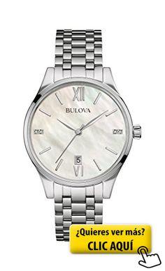 Bulova Ladies Diamond - Reloj de pulsera #reloj #mujer