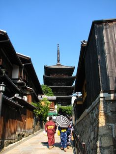 Kyoto, Japan  Stunning city. Nearby the Pagoda is the smallest Ukieyo museum, where a classically trained print maker sells his original pieces.