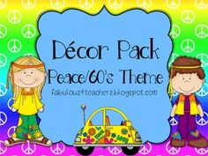 Peace, Love and Learning decor pack!!!