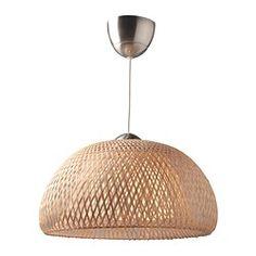 IKEA - BÖJA, Hängeleuchte,  , , Jeder handgearbeitete Schirm ist ein Unikat.Für weiches, sanftes Licht, das für einladende, entspannende Atmosphäre sorgt.Für gerichtetes und für breit gestreutes Licht, auch ideal zum Beleuchten von Esstischen.